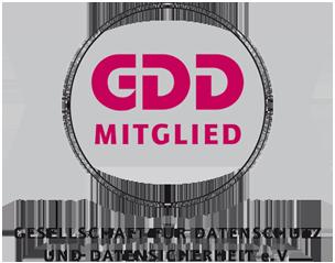 Gesellschaft für Datenschutz und Datensicherheit e.V. GDD Mitglied Logo